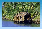 Houseboat in Alleppey Backwater